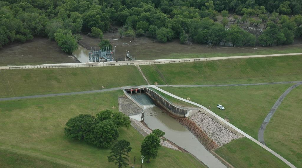 Barker Reservoir Aerial Galveston District u003e Missions