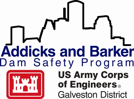 Addicks and Barker Dam Safety Program Logo