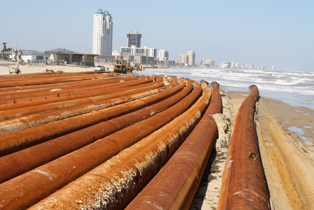 Shoreline Protection at South Padre Island, Texas